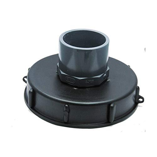 Couvercle 15cm pour cuve 1000L avec entrée PVC 63/75