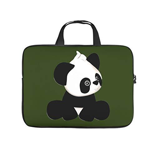 niedlicher Panda Laptoptasche Stoßfest...