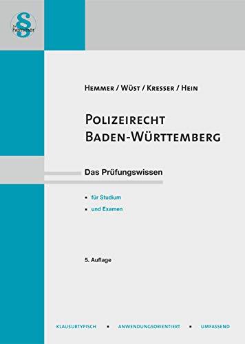 Polizei und Ordnungsrecht Baden Württemberg (Skripten - Öffentliches Recht)