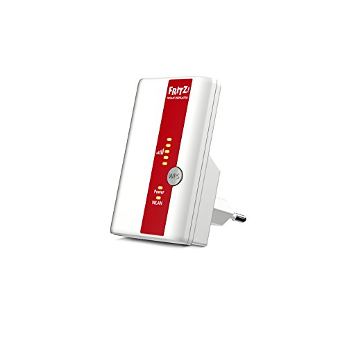 AVM FRITZ!Repeater 310 International, Range Extender Universale Wireless N 300 Mbit/s, WPS,...