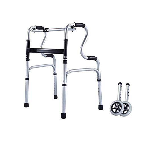SSNG Multifunktionale Gehhilfe für ältere Menschen Reha-Trainingsgeräte für Gehhilfe-Krücken Gehgestell für ältere Menschen,(B)