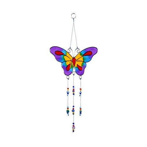 Mobile/Carillon avec perles Papillon coloré