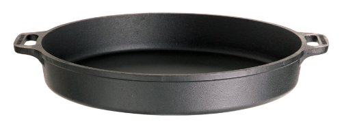 Gusseisenkuss Pfanne aus Gusseisen, Schwarz, Ø 40 cm