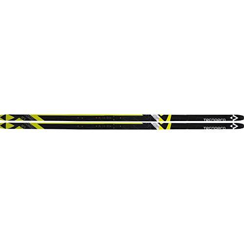 Tecno Pro Herren Langlaufski Set Cruiser Skin gelb schwarz + Prolink Bindung, Größe:164