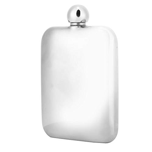 6oz Draagbare RVS Flasks voor Vrouwen Mannen Alcohol Whiskey Jug Wijn Flagon Flessenpot Verjaardag Party Club Bar