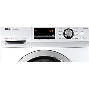 Haier HW80-BP14636 Waschmaschine Frontlader / A+++ / 8 kg / 1400 UpM / Inverter Motor / Vollwasserschutz / ABT