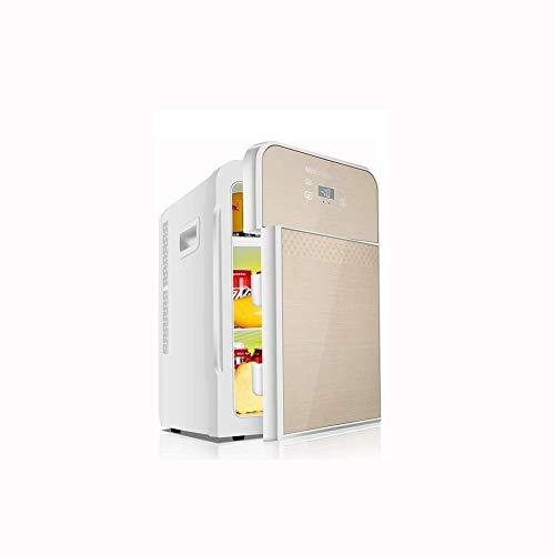 Portable Mini koelkast 12v 220v, Electric Cool Box Car koelkast, Trinucleaire Cooling Digital Display Temperature Control huis en auto for tweeërlei gebruik een warm en koud for tweeërlei gebruik (Kle