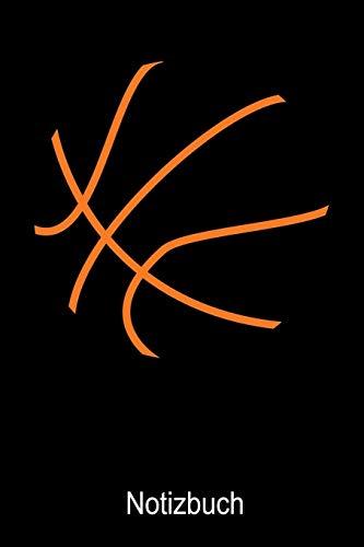 Basketball Notizbuch: Notizbuch A5 blanko 120 Seiten, Notizheft / Tagebuch / Reise Journal, perfektes Geschenk für Basketball Spieler
