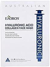 Eaoron Hyaluronic Acid Collagen Hyating Face Mask 5PCS Moisturizing Mask Australia test Product Now Skin firmness & glow