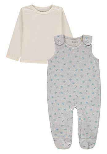 Kanz Baby - Jungen Strampler & T-Shirt 1/1 Arm, Blau (Allover|Multicolored 0003), Gr. 56