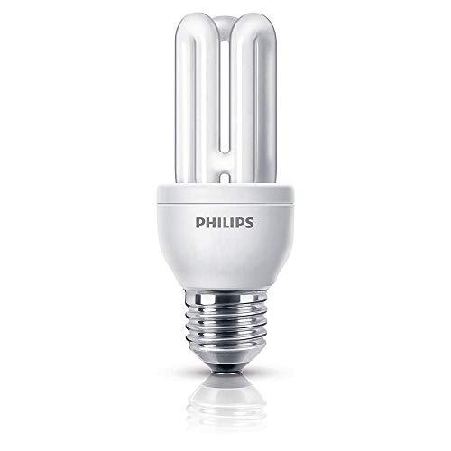 10 Stück Energiesparlampe Genie 11 Watt 827 E27 - Philips