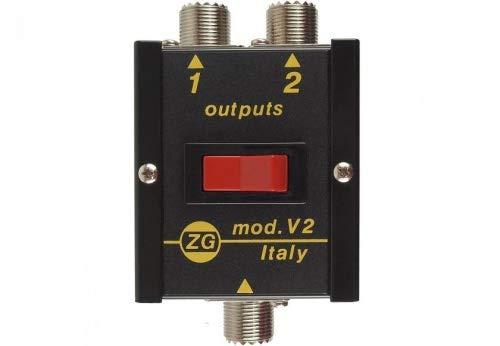 Zetagi V-2 2fach Antennenschalter bis 30 MHz