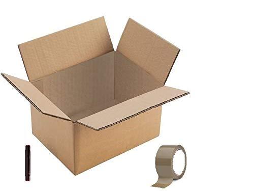 Cajas Carton Mudanza 60X40X40 Marca DeCampos