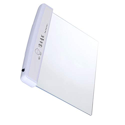 Uonlytech Luz de leitura de LED, luz noturna, livro familiar, luz de leitura, cuidado com os olhos, marcador de livro portátil para leitura na cama carro (branca)