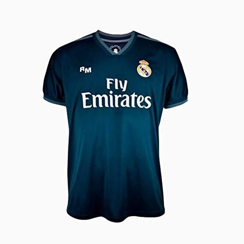 Camiseta 2ª equipación Navy Real Madrid 2019-20 - Replica Oficial con Licencia - Dorsal Liso - Adulto Talla XXL