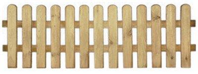 20% Rabatt auf ALLES!!! StaketenZaun 'Premium' 180x60/60cm - gerade – kdi / V2A Edelstahl Schrauben verschraubt - aus getrocknetem Holz glatt gehobelt – gerade Ausführung - kesseldruckimprägniert