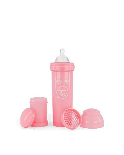 Twistshake 78261 - Biberón, color Pastel Rosa, 330 ml
