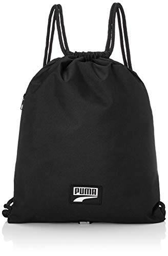 Puma Deck Gym Bag, Unisex Adulto, Black, OSFA