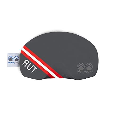 - Ski Brille Schutz | Goggle Etui Schutz Cover | elastisch aus Mikrofaser | unisex (Österreich)