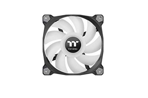 Thermaltake Pure Duo 14 ARGB Sync Radiator Fan 2 Pack Black Fan, CL-F116-PL14SW-A