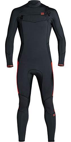 BILLABONG Junior Boys Furnace Absolute 3/2mm Chest Zip GBS Wetsuit S43B63 - Red Orange Age - 10Y