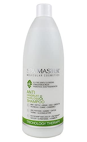 Champú anti-caspa y anti-caída de cabello pH 5,5 Sin Sulfatos 970 ml