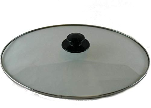 Rival 64451LD-C Crock Pot Lid Replacement Glass Top Slow Cooker Cover