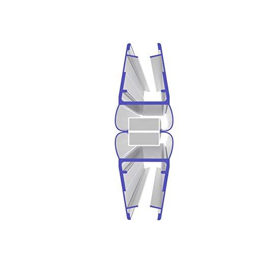 1 Set Magnetdichtung 180 Grad für 5mm, 6mm, 7mm und 8mm 8850 Glasstärke Magnetduschdichtung Duschdichtung Duschtüren…