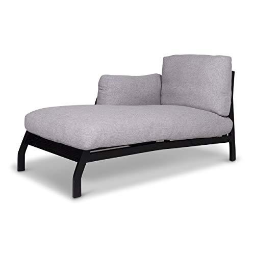 Cassina Eloro fabric lounger Gray Relax