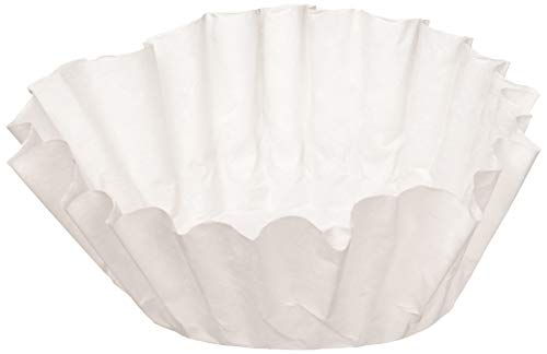 BUNN 6001 12-Cup Commercial Coffee Filters, 500-count, White