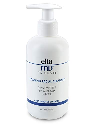 EltaMD Foaming Facial Cleanser, Gentle Face Wash for Acne, Oil-free, Sensitivity-free, Dermatologist-Recommended Enzyme & Amino Acid Face Wash & Makeup Remover, 7 oz