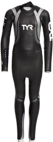 TYR Women's Hurricane Wetsuit - Traje húmedo de Buceo (Mujer), Color Negro, Talla S/M