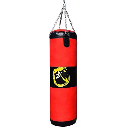 AMY-ZW Hängende Boxsack Mit Dem Berg-Kette Boxsack Trainingsstressabbau Sandbag MMA Fitness-Kampf Karate for Erwachsene for Kinder Jungen Mädchen (Size : 120cm)