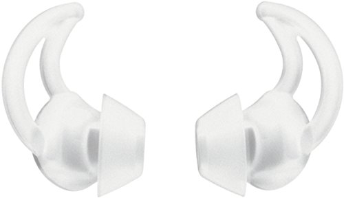 Bose ® StayHear Ultra-Ohreinsätze(Größe: M, zwei Paar) weiß & ® StayHear Ultra-Ohreinsätze(Größe: L, zwei Paar) weiß.