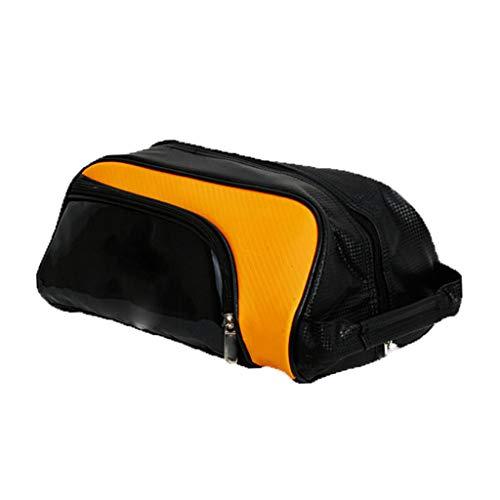 #N/A Schuhtaschen, Tragbare Atmungsaktive Golfschuhe - Tasche Sport Schuhbeutel Golf Sportschuhtaschen, Shoe Bag - Gelb