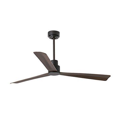 Faro Barcelona 33478 - NASSAU Ventilador de techo sin luz, cuerpo de acero palas de plywood con motor DC