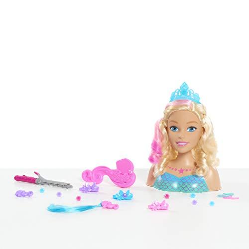 busto con accesorios pelo fabricante Barbie