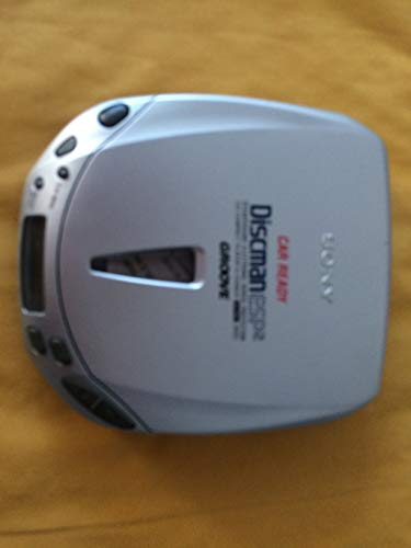 Sony Discman Portable CD Player D-E406CK with Car Kit