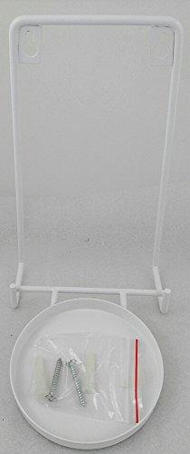 1a PartyLite - Wandhalter Villa BIANCA - P90568B - H: 21cm - Durchmesser 10cm - Metall - Weiß
