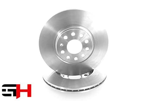 GH - GH-409962 1 disco freno ventilato anteriore destro = sinistro