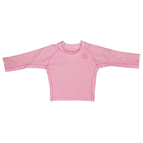 I Play – T-Shirt de natation pour enfant pour fille Rose - -
