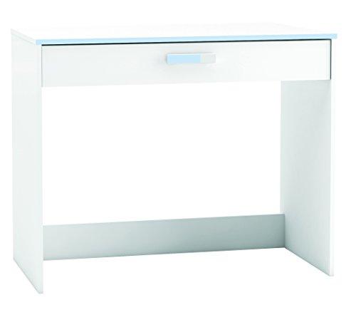 Demeyere 1 tiroir Desk 'Switch', Bois, Blanc nacré
