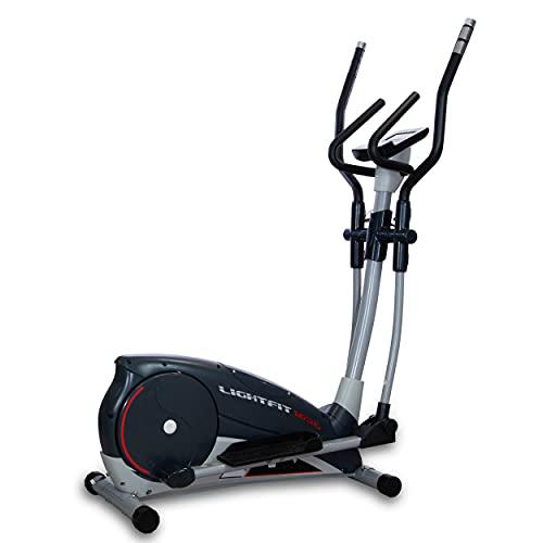 BH Fitness Bicicleta elíptica Lightfit 1030 G2336RFN Programas de Entrenamiento Sistema Inercial 10Kg Zancada 30cm