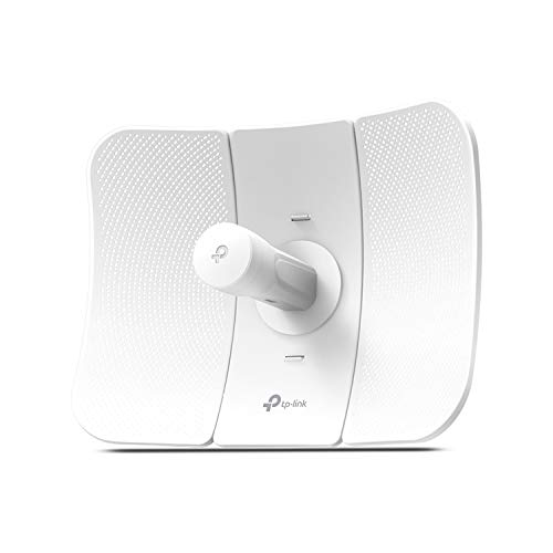 TP-Link 5GHz AC867 Long Range Outdoor CPE for PtP and PtMP Transmission | Point to Point Wireless Bridge | 23dBi | Passive PoE Powered w/Free PoE Injector | Pharos Control (CPE710)