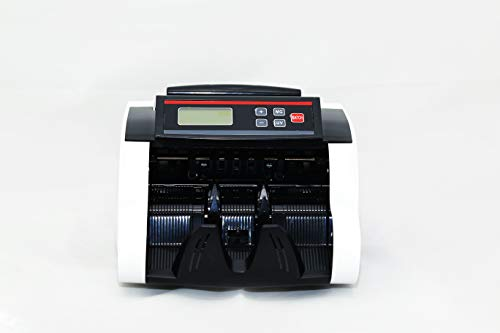 SkyFlag Currency Note Counting Machine - Fake Note Detection UV MG IR - Bill Counter All New Old Indian Rupee Currency Notes - Fast Accurate Office Bank Business - | 1 Year Warranty | (New 7700)