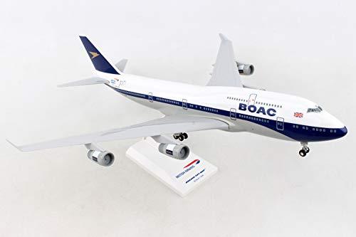 Skymarks SKR1015A British Airways 747-400 100-jährige BOAC G-BYGC-Bemalung mit Fahrwerk Maßstab 1/200