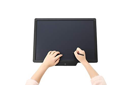 VANESSA 20 Zoll LCD Schreibtafel, Schreibtablett für Kinder und Erwachsene. umweltfreundlicher, Flexibler Bildschirm, Lerntafel, löschbares Schreib und Zeichenbrett, Digitale Schreibtafel