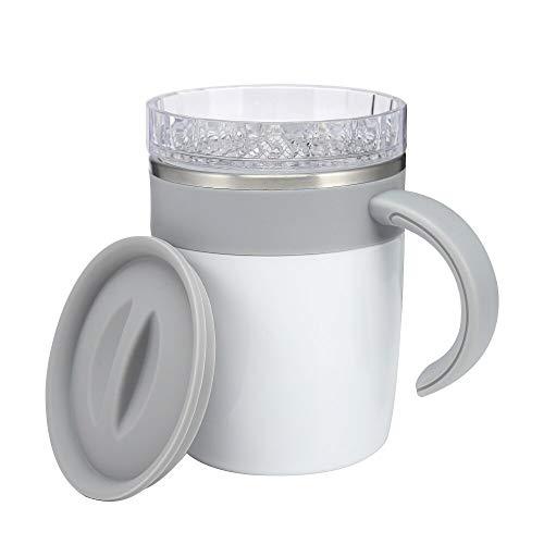 Vasos de agua de 300 ml de mezcla automática de la taza de mezcla, diferencia de temperatura, control magnético, botella de agua creativa taza de café para oficina en casa