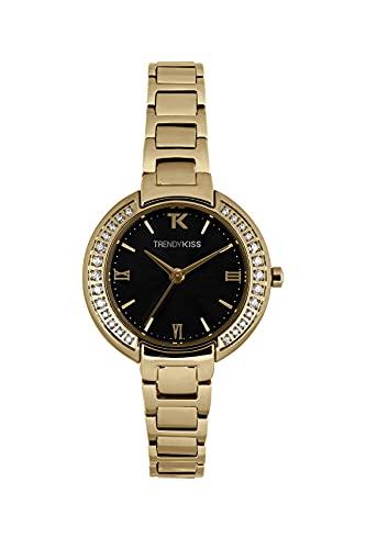 Trendy Kiss TMG10141-02 - Reloj analógico de cuarzo con correa de acero inoxidable