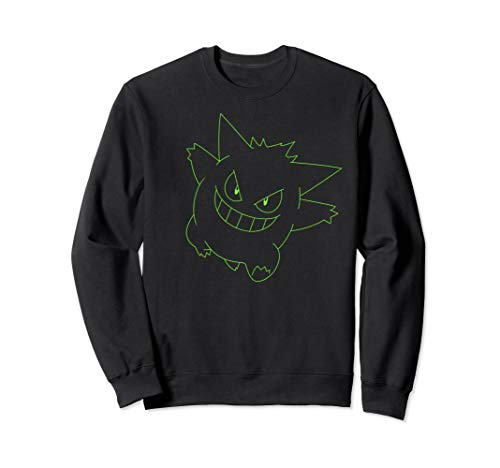 Pokémon Gengar Outline Sweatshirt